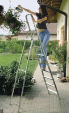 B m launtop productos for Tipos de escaleras de aluminio